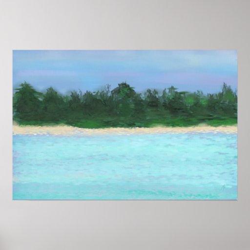 Island Landscape ©jlp Posters