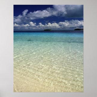 Island landscape, Vava'u Island,Tonga Poster
