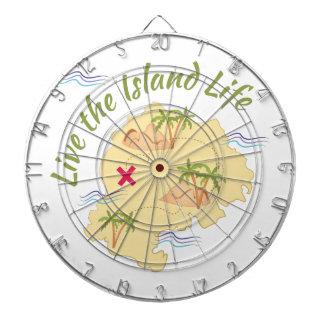 Island LIfe Dartboard With Darts