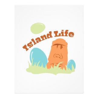 Island Life Letterhead