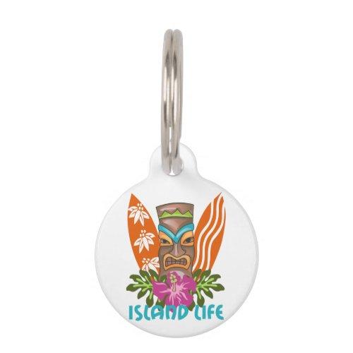 Island Life Pet ID Tag