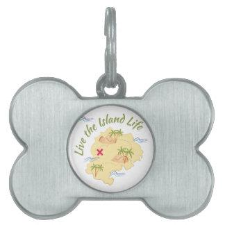 Island LIfe Pet Tag