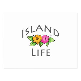 Island Life Post Card