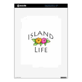 Island Life Skins For iPad 2