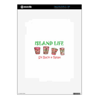 Island Life iPad 2 Skins