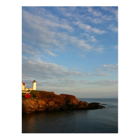 Island Lighthouse Postcard