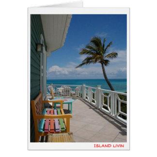 Island Livin Card