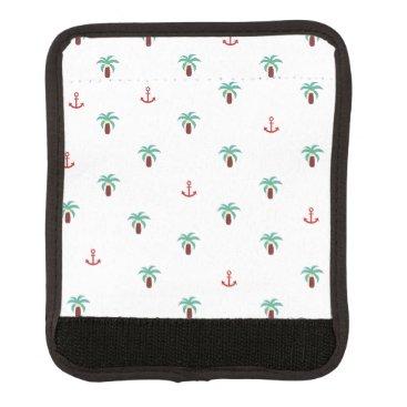 Beach Themed Island Luggage Handle Wrap
