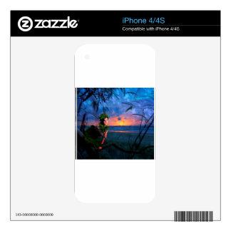 ISLAND MAGIC DECAL FOR iPhone 4