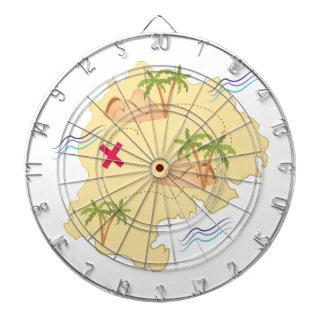 Island Map Dart Boards