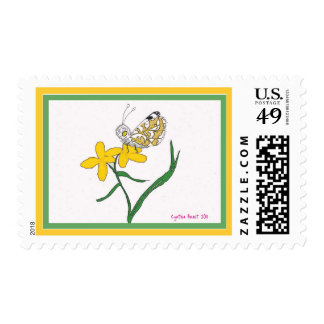 Island Marble Butterfly Postage Stamps