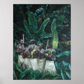 Island Men Print