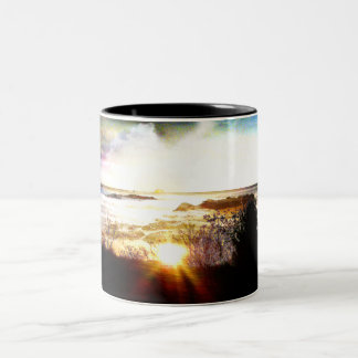 Island Mist Two-Tone Coffee Mug