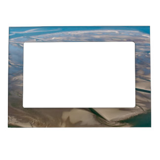 Island Neuwerk near Hamburg in German Wadden Sea Magnetic Photo Frame