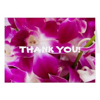 Island Nuptials-Thank You Card