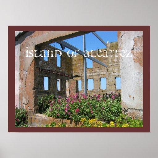 Island of Alcatrez Poster