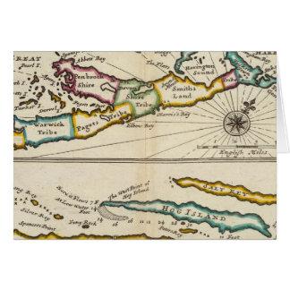 Island of Bermuda, Part of Providence Island Card