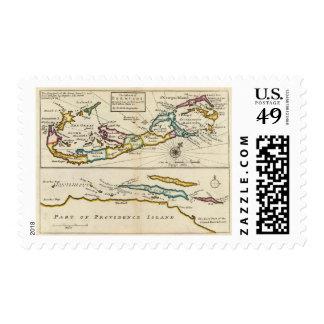 Island of Bermuda, Part of Providence Island Postage