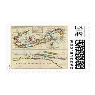 Island of Bermuda, Part of Providence Island Stamp