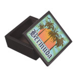 Island of Bermuda Souvenir Premium Keepsake Box