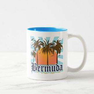 Island of Bermuda Souvenirs Two-Tone Coffee Mug
