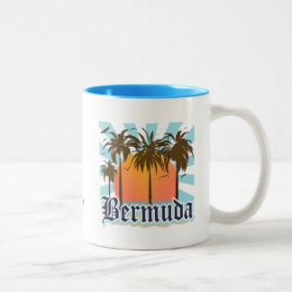 Island Of Bermuda Two-Tone Coffee Mug