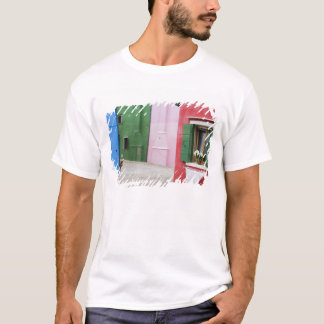 Island of Burano, Burano, Italy. Colorful Burano 2 T-Shirt