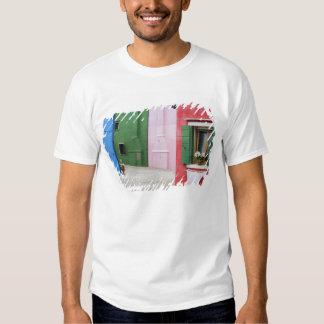 Island of Burano, Burano, Italy. Colorful Burano 2 Tee Shirt
