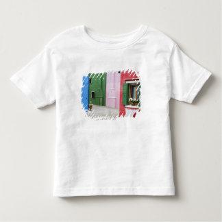 Island of Burano, Burano, Italy. Colorful Burano 2 T-shirts