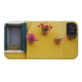 Island of Burano, Burano, Italy. Colorful Burano 3 Case-Mate iPhone 4 Case