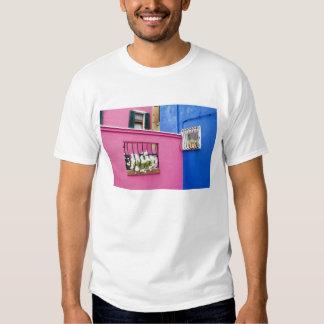 Island of Burano, Burano, Italy. Colorful Burano Tee Shirt