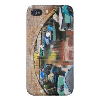 Island of Burano, Burano, Italy. Colorful iPhone 4 Cover