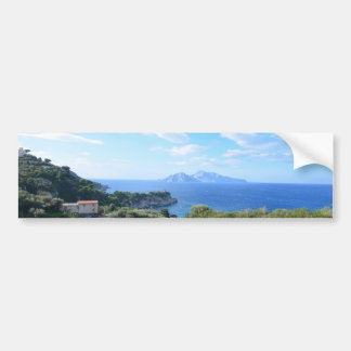 Island of Capri Bumper Sticker