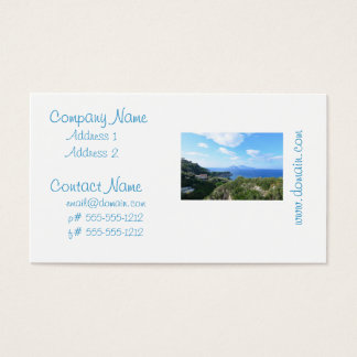 Island of Capri Business Card