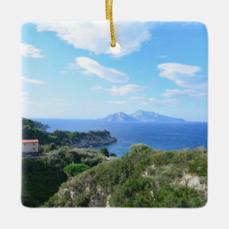 Island of Capri Ceramic Ornament