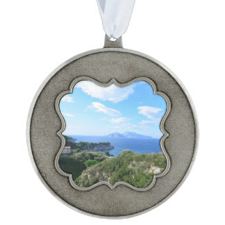 Island of Capri Pewter Ornament