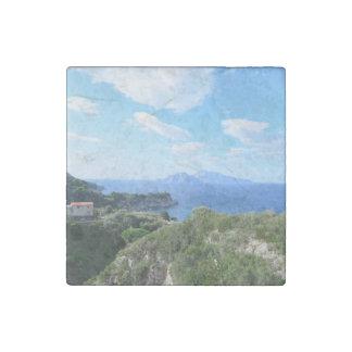 Island of Capri Stone Magnet