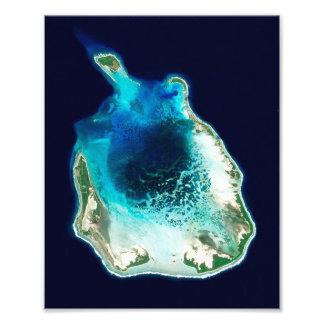 Island of Cocos (Keeling), Pacific Ocean Photo Print