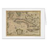 Island of Cuba Map - 1762 Card