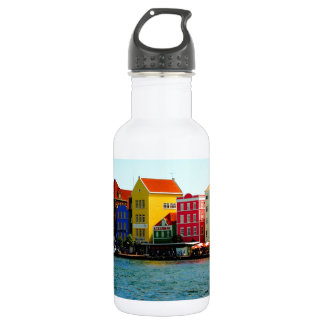 Island of Curacao Design by Admiro 18oz Water Bottle