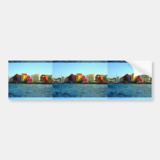 Island of Curacao Design by Admiro Bumper Sticker