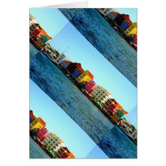 Island of Curacao Design by Admiro Card
