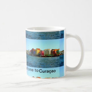Island of Curacao Design by Admiro Classic White Coffee Mug