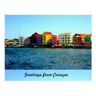 Island of Curacao Design by Admiro Postcard