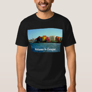 Island of Curacao Design by Admiro Tee Shirt
