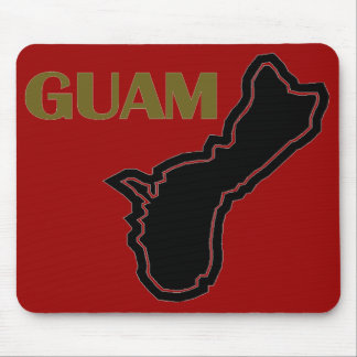 Island of Guam Mouse Pad