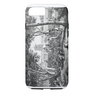 Island of Guam: Natives at Work in the Garden of t iPhone 7 Case