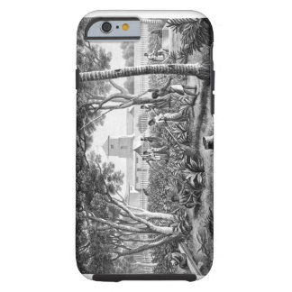 Island of Guam: Natives at Work in the Garden of t Tough iPhone 6 Case