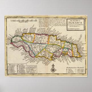 Island of Jamaica Print