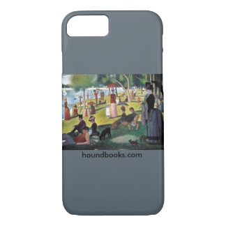 Island of La Grande Jatte with Wimsey Bloodhound iPhone 8/7 Case